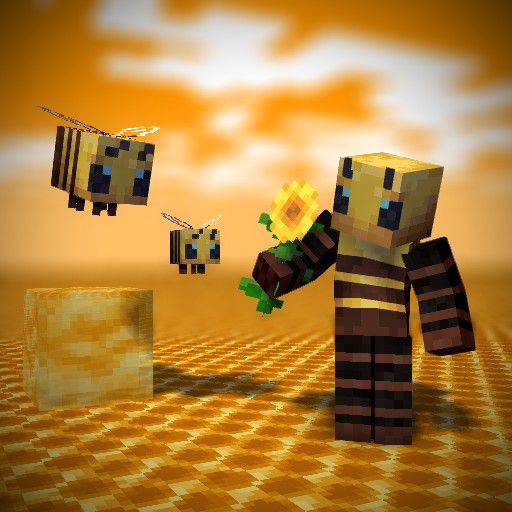 Bee [Slim] Minecraft Skin