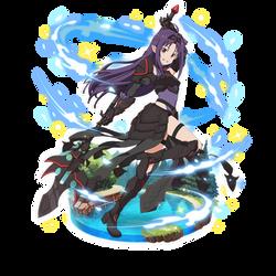 Black Knight Yuuki by Dawnnolight