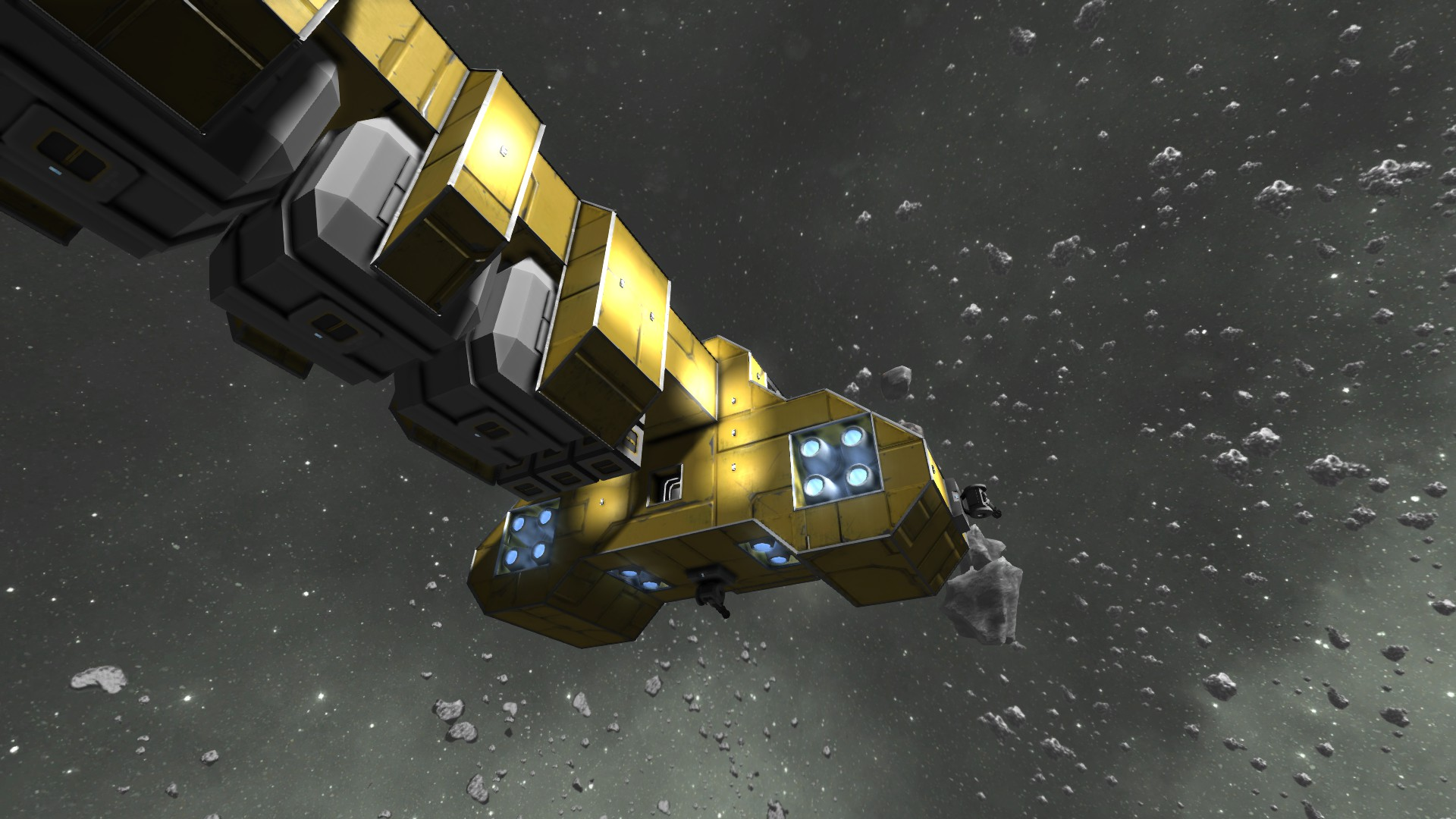 space engineers asteroid ship - photo #33