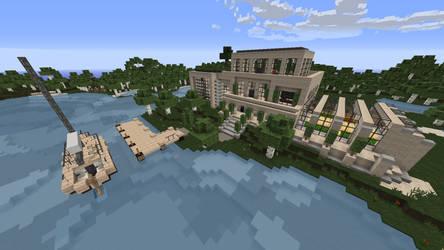 Minecraft - my house
