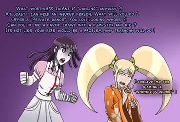 RoleSwap - Mikan and Hiyoko by TripleA096