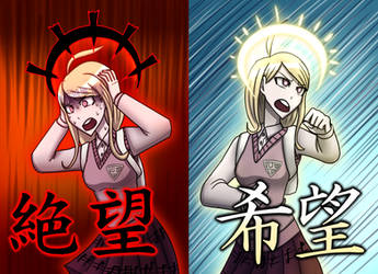 The hope and despair of Kaede Akamatsu by TripleA096