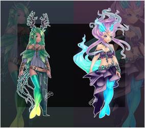 Guest Gleams: Mythical/Mutation [closed Ty!] by Onirini