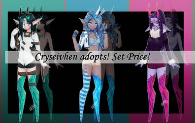 Cryseivhen Adopts! Set Price [1/3 open}