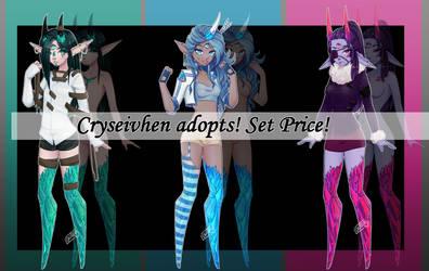 Cryseivhen Adopts! Set Price [1/3 open}