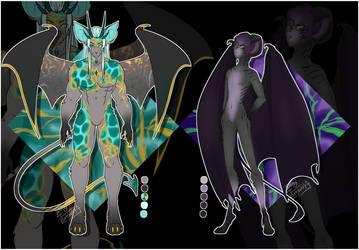 Anthro Demon bois: Collab [auction open]