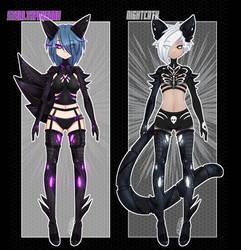 Kemonomimi Nightborgs [1/2 reduced]