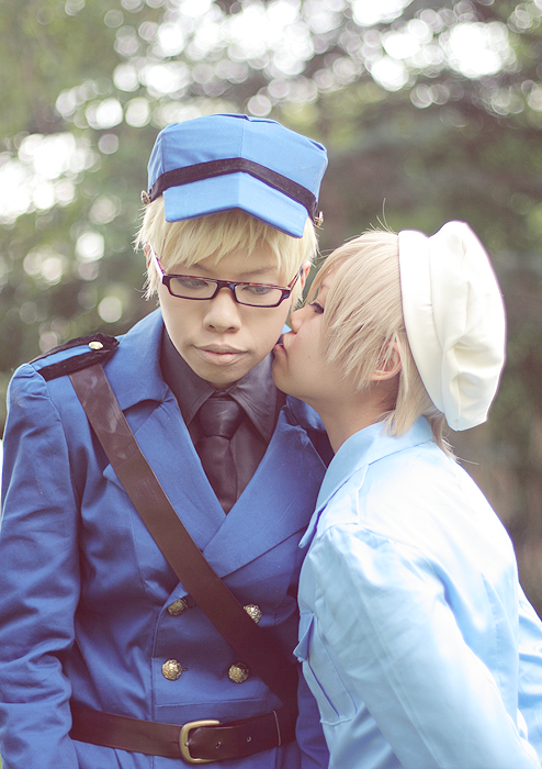 APH-I will give you a kiss by astachan