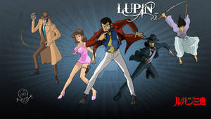 Wallpaper Lupin