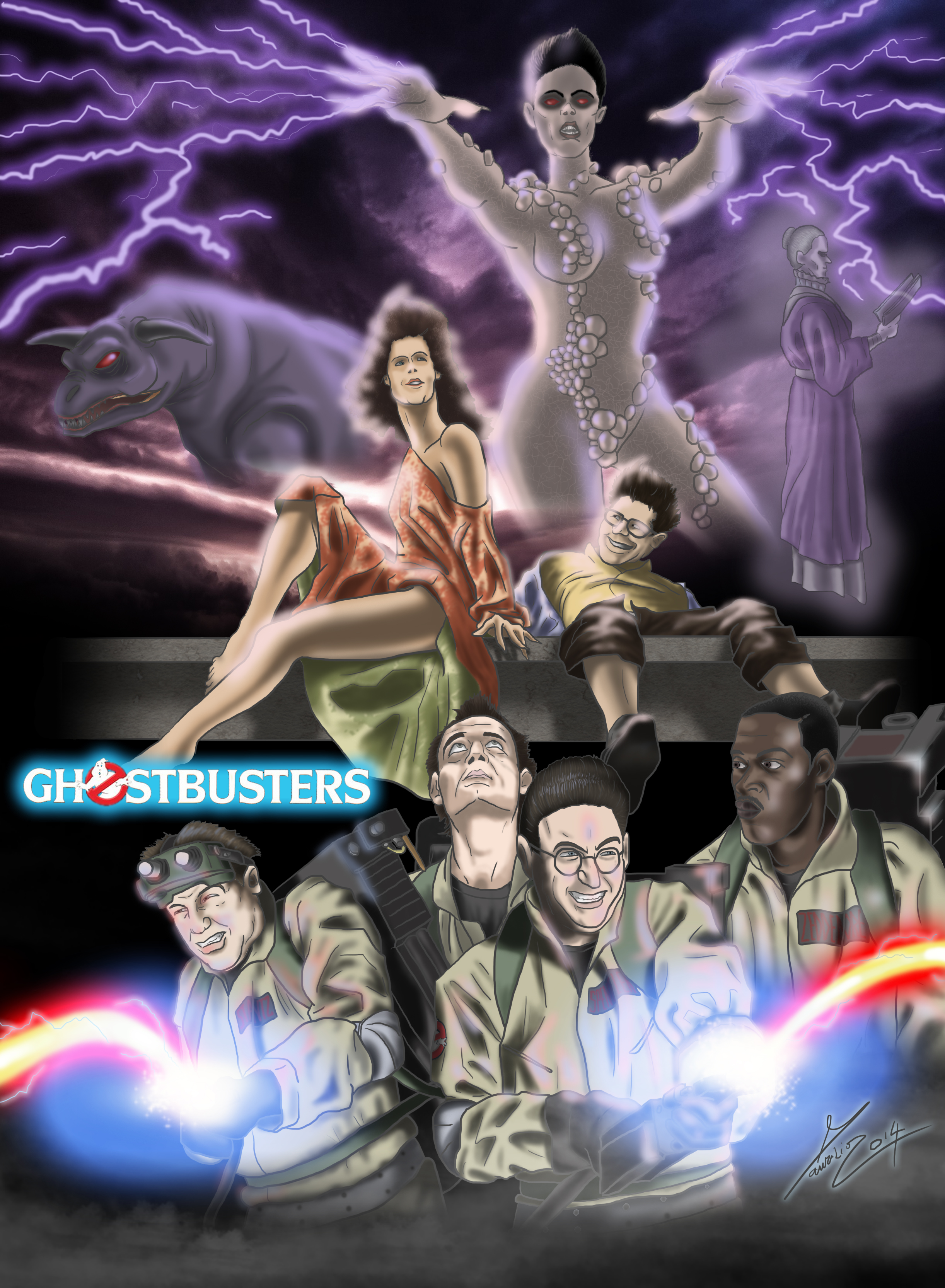 Ghostbusters tribute 30 anniversary