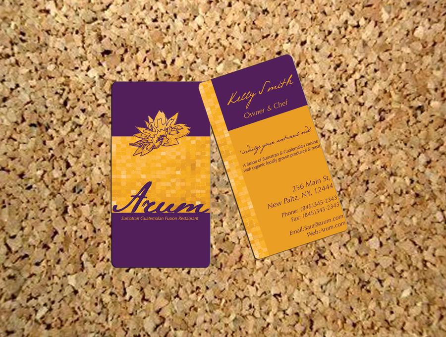 Arum Business Card