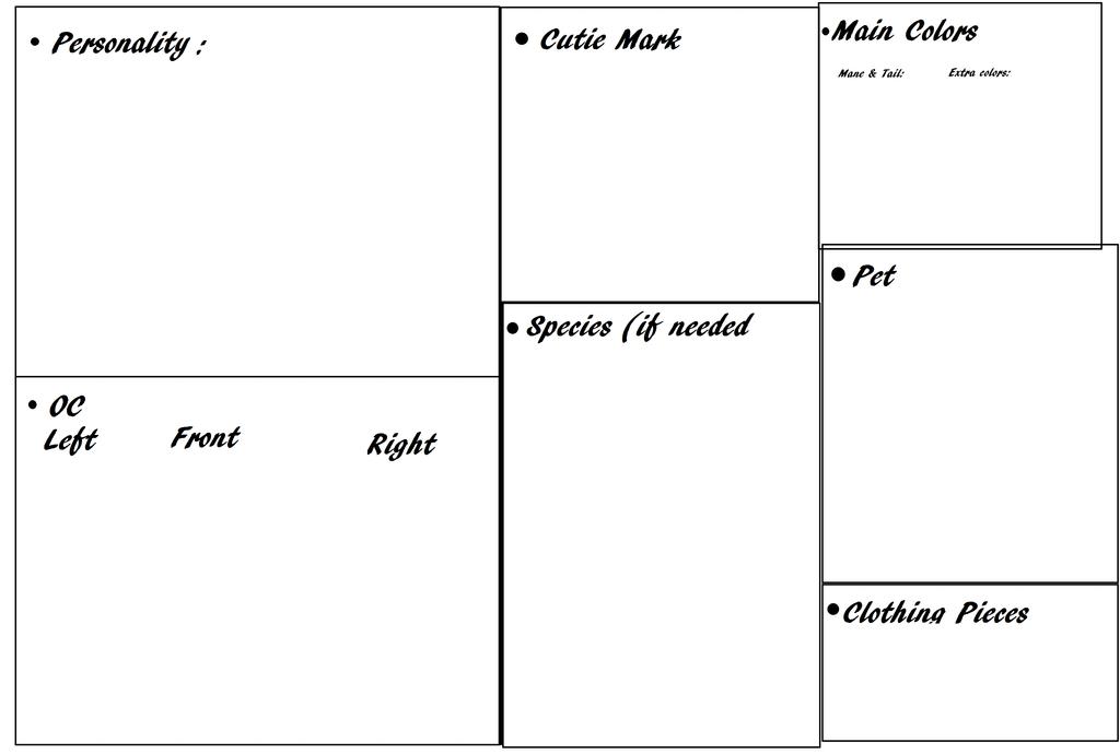 MLP ref sheet base - Wistparri on dA by Wistparri