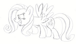 New Fluttershy is Hard to Draw