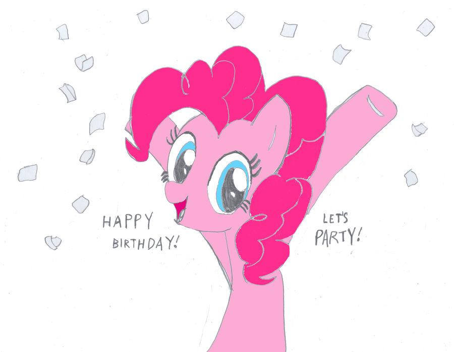 Pinkie Birthday Party!