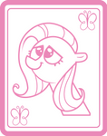Pinkie's Fluttershy Drawing - Vector