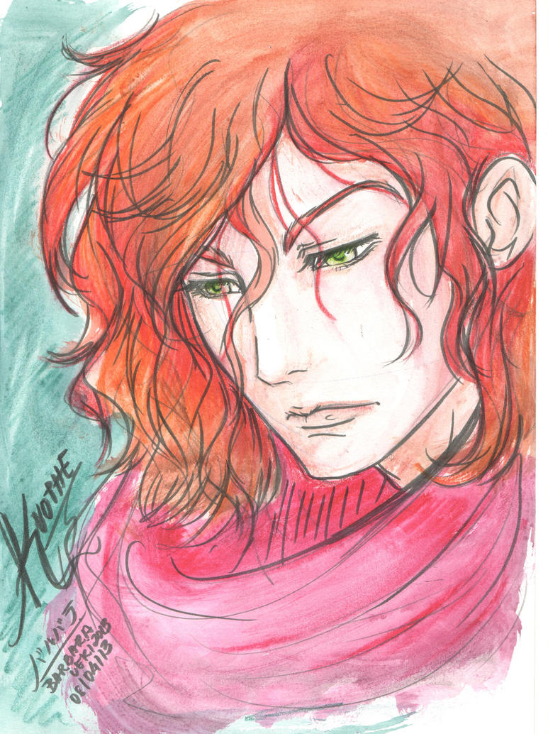 Kvothe(O nome do Vento) by Ueki2013