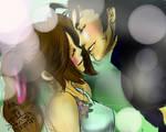 Zack and Aerith (FF VII)