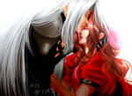 Kiss My Eyes - Sephiroth and Aerith