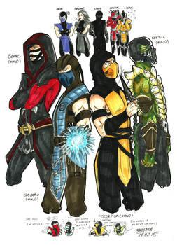 Ninjas of Mortal Kombat X - Or No...