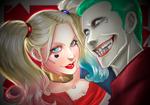 Joker and Harley Quinn - (Commission)