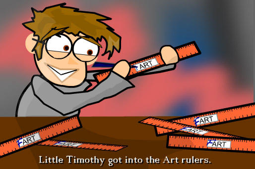 ElementarySchoolFun:Art Rulers by Wronchi