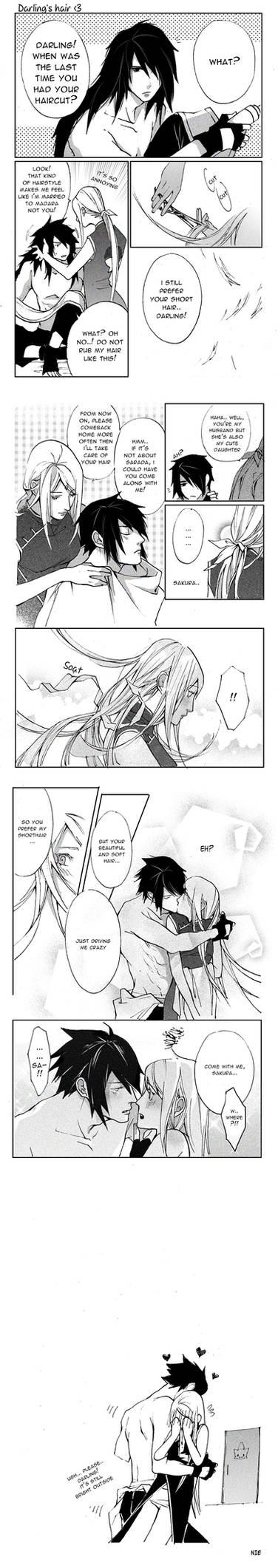 Darling's hair SASUSAKU doujinshi!