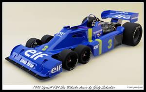 1976 Tyrrell P34 Six Wheeler by neilgrocock
