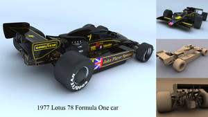 1977 Lotus 78 Formula One Car by neilgrocock