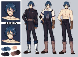 aiden - - Copy by daMegane07