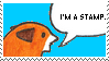 [stamp] Fox - I'm A Stamp by PizzaFisch