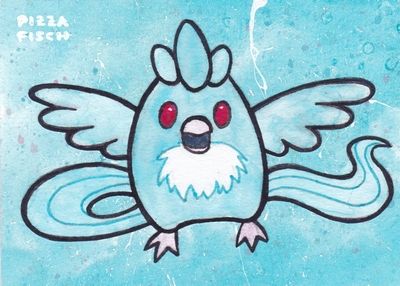 ACEO 047 - Articuno by PizzaFisch