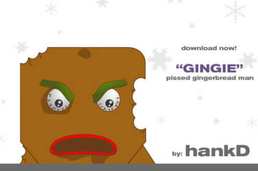 Gingie 'Pissed' - blokhed by hankd