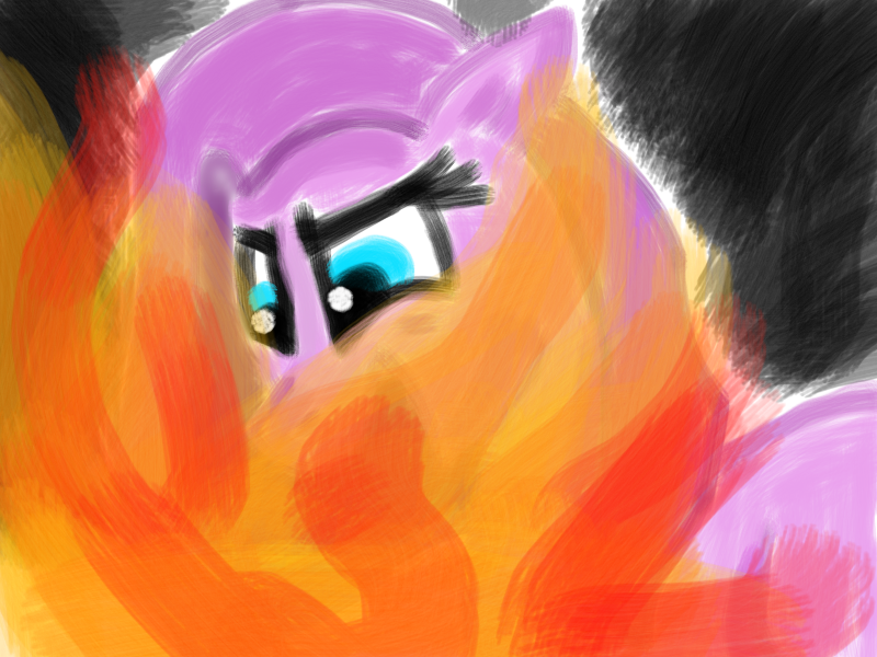 I'll BURN YOU DOWN!!! by Here-Is-Pinkamena