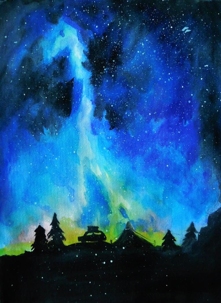 Starry night by LordMars
