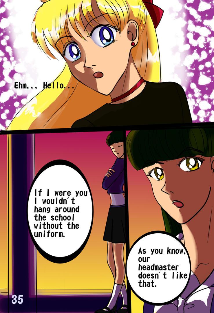 Sailor Moon: Evolution. Act 2: Masked Senshi. 35 by LordMars