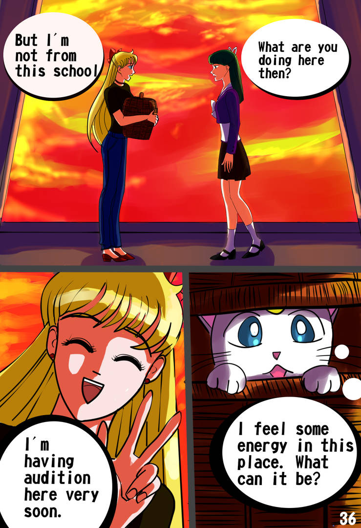 Sailor Moon: Evolution. Act 2. Page 36. by LordMars