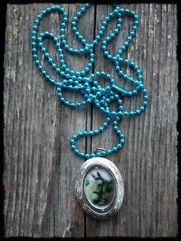 Necklace with medallion by Romyislief