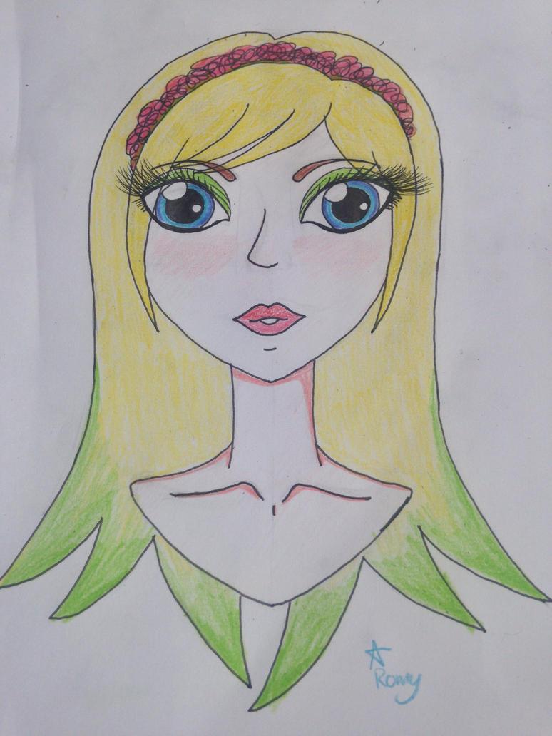 Spring lady by Romyislief