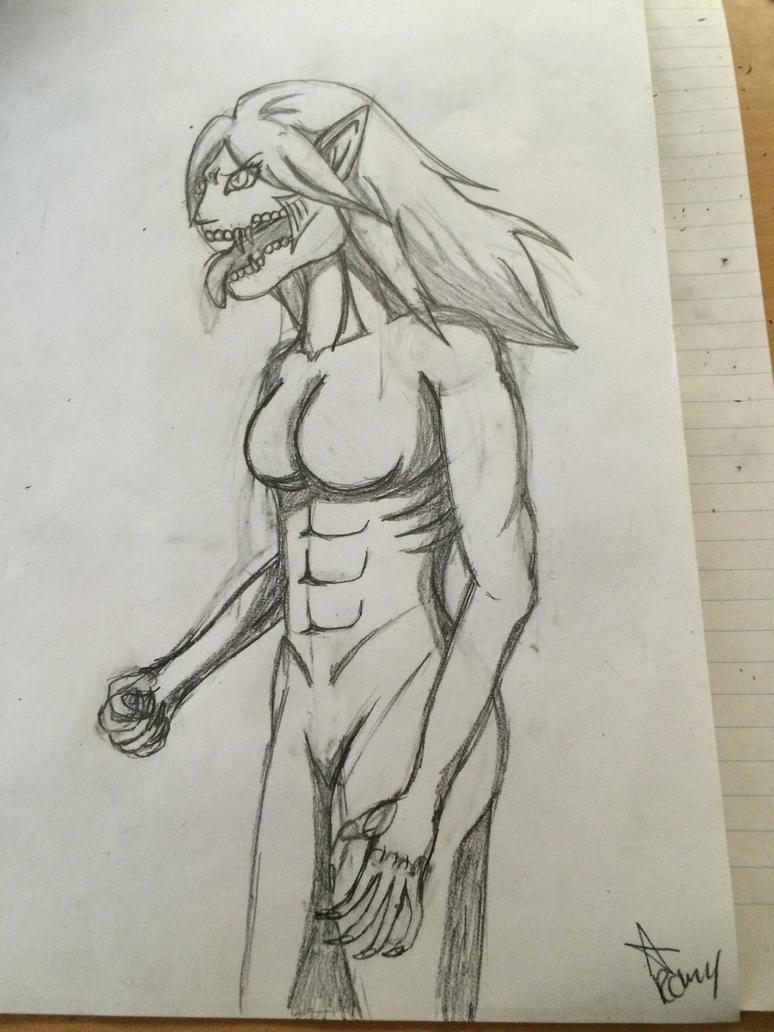 Jumi titan form by Romyislief