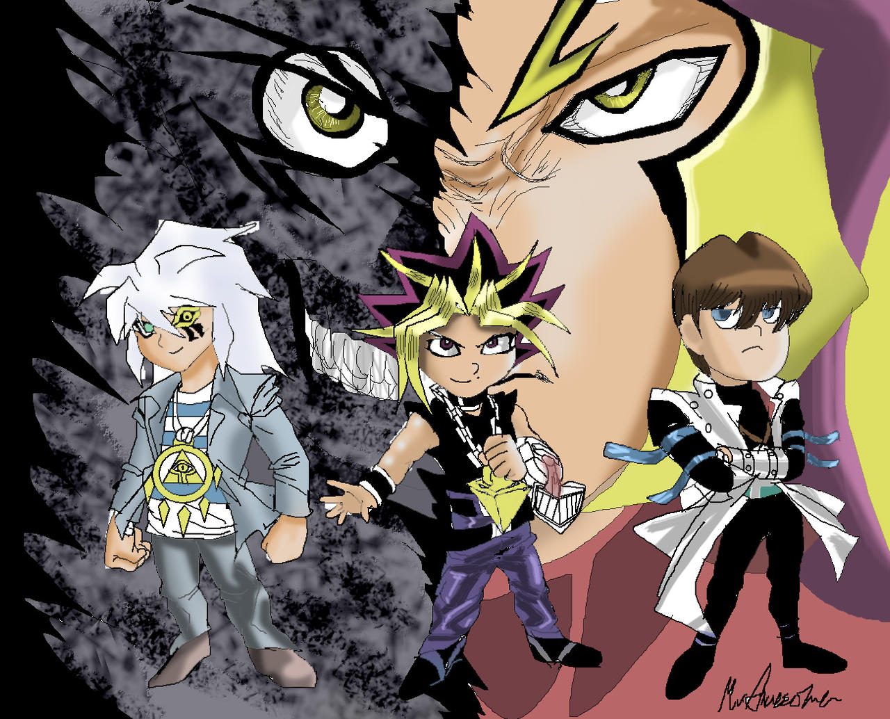Yu-Gi-Oh! bonds beyond time II Chapter 4 Go_read_bonds_beyond_time_2_manga__links_below__by_mrawesome45-d75x9kv