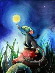 Moon Rat by Cenomancer