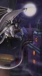 Living Gargoyle by Cenomancer
