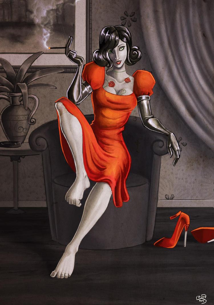 La Petite Robe Rouge by Cenomancer