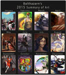 2015 Art Summary by Cenomancer