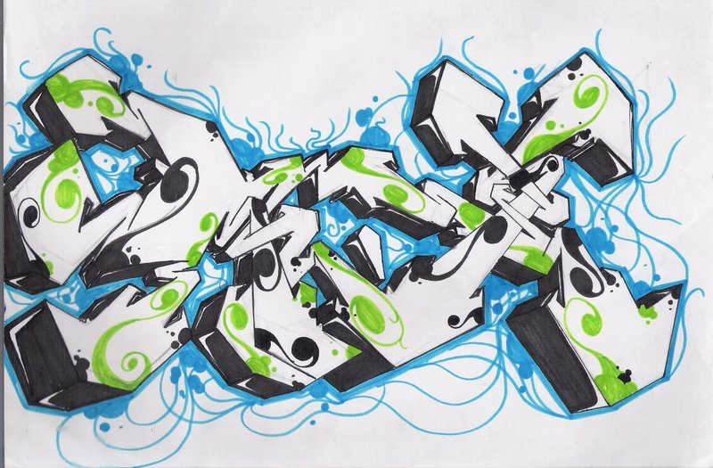 graffiti paper Hello everyone i'm tony from 139art studio here are some basics of drawing graffiti sketches 139art drawing graffiti effects on paper et.
