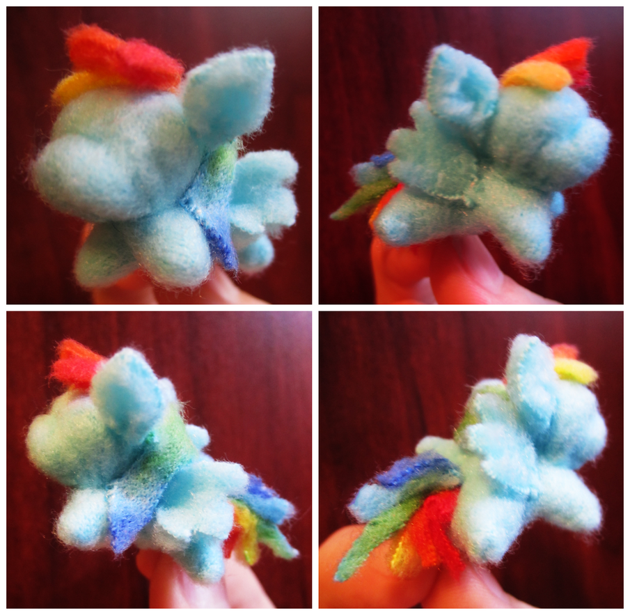 Sarubobo Rainbow Dash by equinepalette