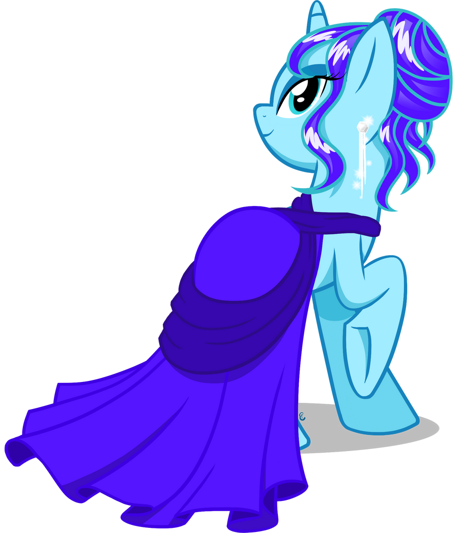 Frosty Glamour by equinepalette