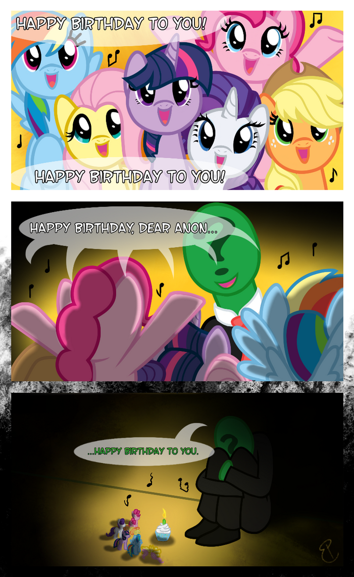 Happy Birthday to You. by equinepalette