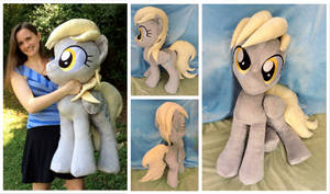 ''Life-size'' (34 inches) Derpy Plushie