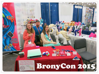 BronyCon 2015 Vendor Booth by equinepalette